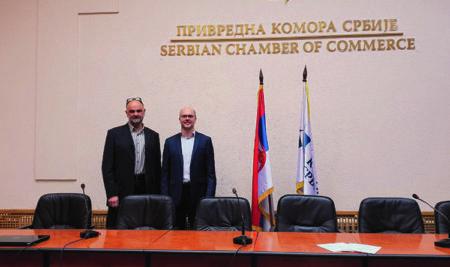 MAJK HOGAN – Predavanje u Privrednoj komori Srbije