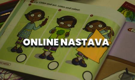 OBAVEŠTENJE : Prelazimo na online nastavu!
